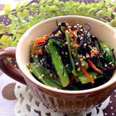 レシピはこちら http://pecolly.jp/user/profile/18513 - 34件のもぐもぐ - 小松菜&ひじきの和風サラダ by nakimusiyuu53