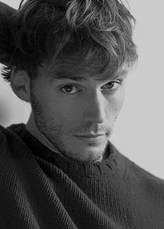 He is beautiful. That is all. #SamClaflin #qtpie