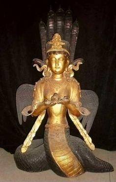 Alterpiece, Winged Naga Kanya
