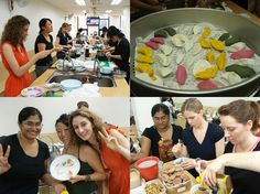 Chuseok cooking class at Yeoksam Global Center, Seoul