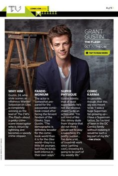 Check out @grantgust in Entertainment Weekly Magazine this week!