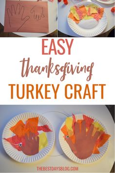 This Thanksgiving turkey craft is really easy to make. A fun activity to do with your toddler this year. #thanksgivingcraft #turkeycraft #craftsfortoddlers Thanksgiving Crafts For Toddlers, Thanksgiving Turkey, Crafts For Kids, Sensory Activities Toddlers, Fun Activities To Do, Tissue Paper Trees, Paper Feathers, Turkey Craft, Toddler Crafts