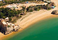 #Beach Praia Grande, Ferragudo, Algarve, Portugal   via http://blog.turismodoalgarve.pt