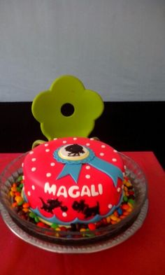 Magali's birthday cake