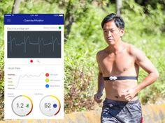 CALM. Wearable ECG for sports and sleep analysis