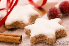 Receita de Estrela de canela em receitas de biscoitos e bolachas, veja essa e outras receitas aqui!