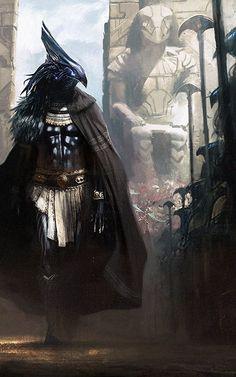 Reaper Armor Inspiration RavenHammer Dwarves. (Added by Karpathian)