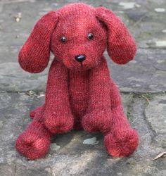 Cale-porte tricoté. Knitted door stopper.  www.batilou.org