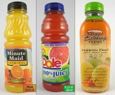Why juice is a bad choice!