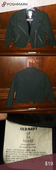 Old Navy moto jacket Old Navy toddler girl motto jacket super cute! Old Navy Jackets & Coats