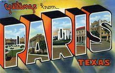 Paris, Texas, 1943
