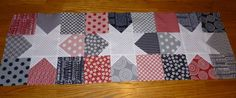 Carol's Crafty Creations: July 2012  Table runner of Mama Said Sew fabrics!