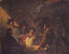 Joseph Lies, Episode uit het leven van Rembrandt, KMSA