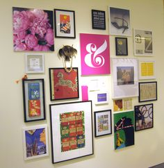 #decoratecolorfully our salon wall in our chicago shop
