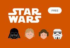 Free Star Wars Vector Icon Set