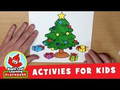 Christmas Present Activity for Kids   Maple Leaf Learning Playhouse - YouTube