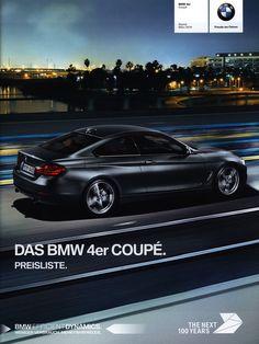 https://flic.kr/p/NqModF | BMW 4er Coupé. Preisliste. (daten facts); 2016