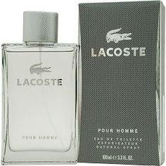 Lacoste Pour Homme 3.4oz 100ml Men's Eau de Toilette Spray original sealed pack