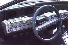 Alfa Romeo Delfino (Bertone), 1983 - Interior
