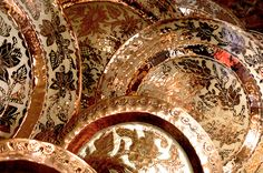 Santa Clara del Cobre, Michoacán, Mexico. Copper art.