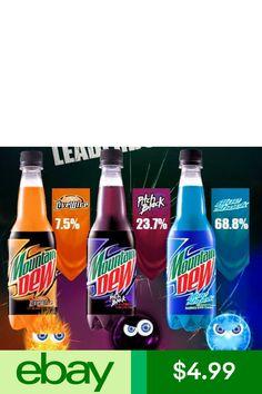 Mountain Dew Soda Pop Home & Garden Soda Drink, Blue Drinks, Free Frames, Live Wire, Pepsi Cola, Pop Bottles, Mountain Dew, Old Ads, Refreshing Drinks