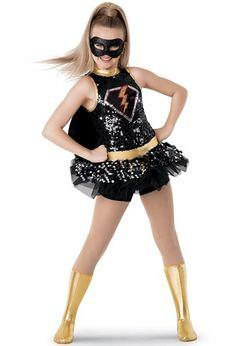 Weissman™ | Superhero Sequin Character Costume