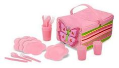 Bella Butterfly Picnic Set  Item #: 6170    Price: $29.99