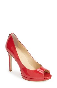 Free shipping and returns on Ivanka Trump 'Maggie' Pump at Nordstrom.com. A subtle platform and slender heel lend sophisticated lift to a classic, peep-toe pump.