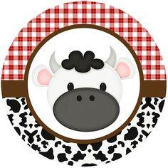La Granja Bebés: Wrappers y Toppers para Cupcakes para Imprimir Gratis. Farm Animal Birthday, Farm Birthday, 3rd Birthday Parties, Cowboy Theme Party, Farm Party, Cow Cupcakes, Foto Transfer, Barn Parties, Farm Theme