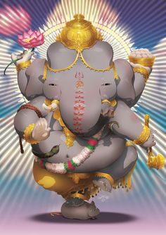 awesome Ganesha by http://lastscionz.deviantart.com