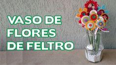 Vaso de Flores Passo a Passo - Dia das Mães