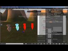 Make Animated Mesh model for Secondlife and Opensim with Blender -A VERY SLOW Blender Tutorial - YouTube