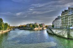 Seine Parijs Frankrijk