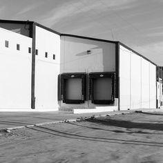#builtlandscape - #Baja #BajaMexico #BajaCalifornia #Mexico #roadside  #exploreMexico #bnw #blackandwhite  #bw_society #bnw_captures #bnw_mexico #scenesofMX #scenesofmexico #visitmx #mexicophotography #exploremx #MX #daylight #travel #travelgram #NorthAmerica #landscape #built #warehouse #garage