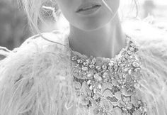 Feathers, lace and jewels - what else do you need?