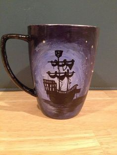 Peter Pan Mug by aCupofNostalgia on Etsy, $20.00