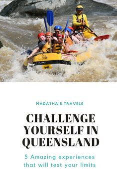 Exciting things to do in Queensland, Australia #australia #queensland #cairns #thegreatbarrierreef #whitewaterrafting #diving #zipline #sailing #whitsundays #hiking #island #adventure #travel #travelinspiration