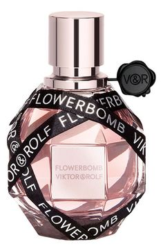 Viktor Rolf 'Flowerbomb Love Me Tight' Eau de Parfum (Limited Edition) available at - love this perfume Perfume And Cologne, Best Perfume, Perfume Bottles, Parfum Rose, Fragrance Parfum, Flowerbomb Perfume, Flower Bomb, Nordstrom, Beautiful Perfume