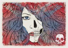 """Melvins Lite, Missoula MT 2012"" by Malleus. 50 x 70 cm Screenprint.  Malleus Rock Art Lab"