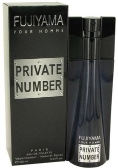 Succes De Paris Fujiyama Private Number Eau De Toilette Spray for Men (3.3 oz/97 ml)