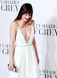 """Dakota Johnson - 'Fifty Shades of Grey' London Premiere """