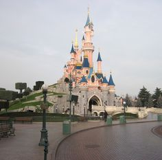 Sleep Beauty's Castle, Disneyland Paris, France by Wendy White