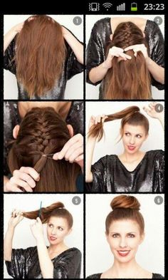 How To Hairstyles Overlapping Halfup Halfdown Hair Tutorial Easy  Tangled Up
