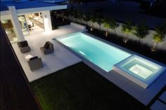Beautiful Swimming Pools Around the World: Modern Contemporary House Swimming Pool