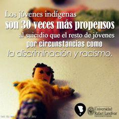 #Suicidio #Indigenas #Discriminacion #EnContraDelSuicidio