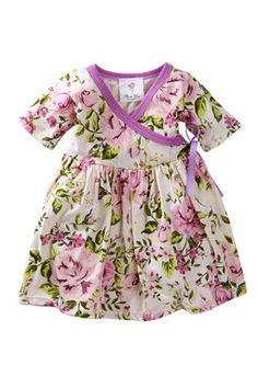 Mad Sky Kimono Dress & Panty Set (Baby & Toddler Girls)