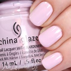 China Glaze Wanderlust is a soft lilac shimmer. It's a cross between China Glaze In A Lily Bit and Light As Air.