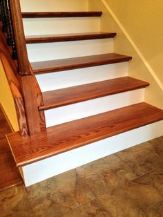 Fruend Residence Install Stair Treads Pinterest Stairs And Wood Baers