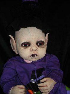 OOAK Horror Goth Art Doll Vampire Devil Reborn Babies Living Dead | eBay