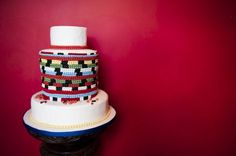 zulu love letter cake